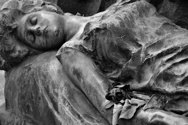 Venice, Isola di San Michele, Tomb of Sonia Kaliensky