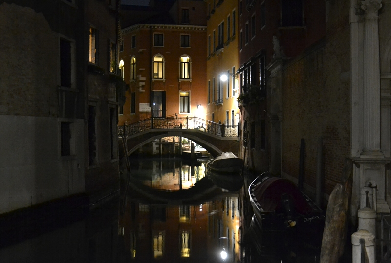 Venice at Night, Canal