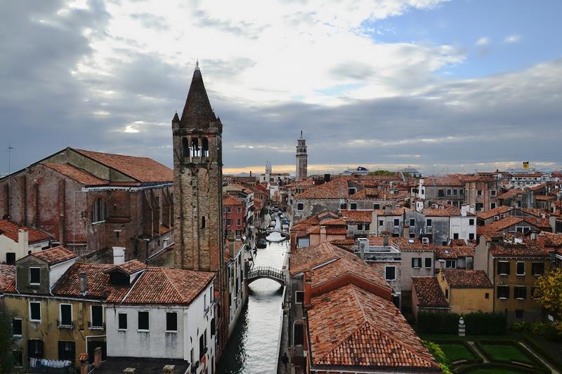 Venedig, Rio di San Barnaba, Ca* Rezzonica