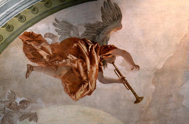 Tiepolo, Sala dell' Allegoria Nuziale, Ca' Rezzonico, Museo del Settecento Veneziano