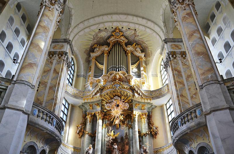 Dresden, Silbermann-Orgel in der Friedenskirche