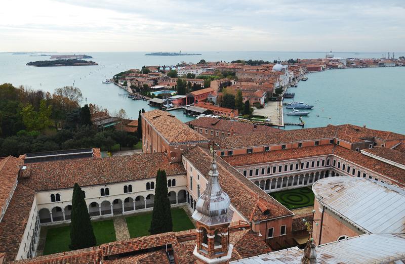 Venice, View from Campanile die San Giorgio Maggiore nach Giudecca