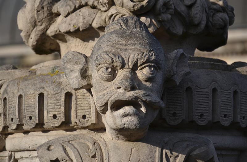 Zwinger Dresden, Skulptur, Große Vase