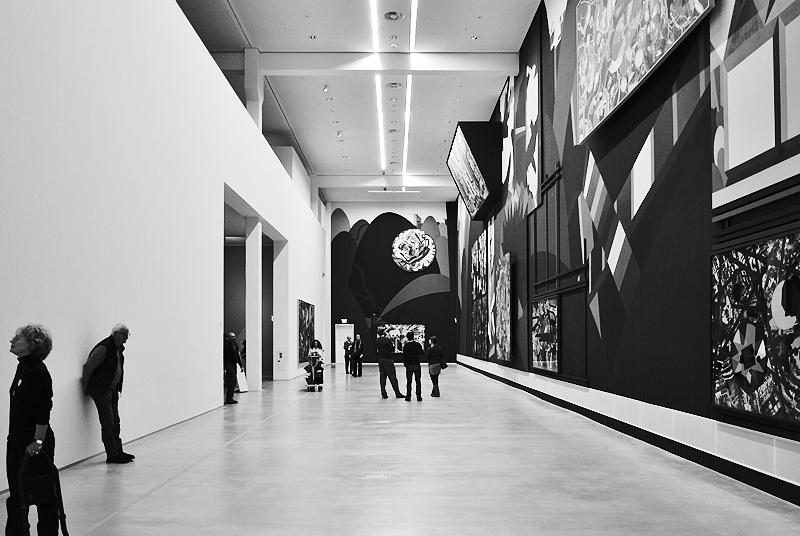 Berlinische Galerie, Eingangshalle (Franz Ackermann, Hügel und Zweifel)