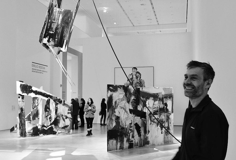 Berlinische Galerie, Emilio Vedova, Absurd Berlin Diary '64