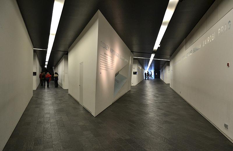 Jüdisches Museum Berlin, Daniel Libeskind, Achse der Kontinuität und Achse des Exils