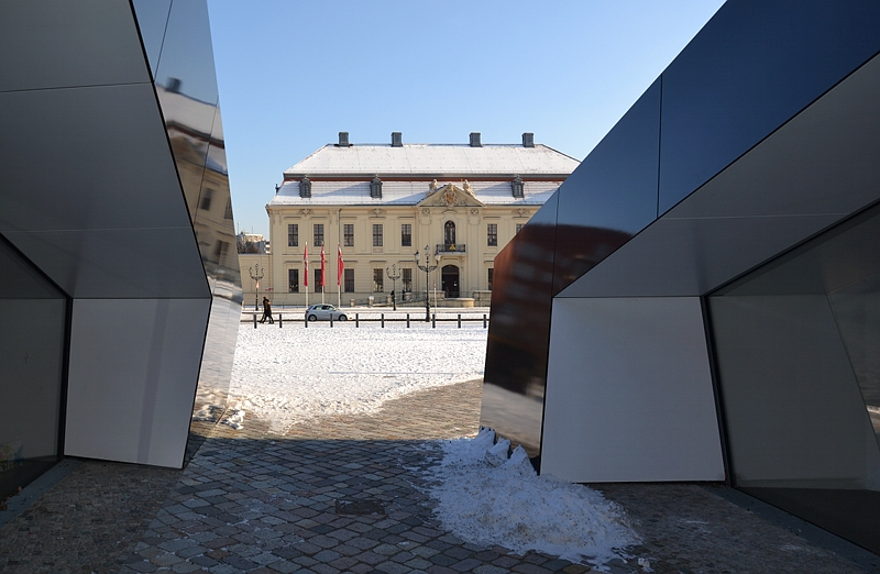 Jüdisches Museum Berlin, Altbau und Akademie