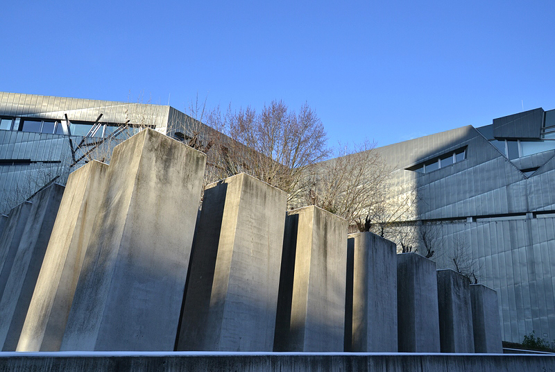Jüdisches Museum Berlin, Daniel Libeskind, Garten des Exils