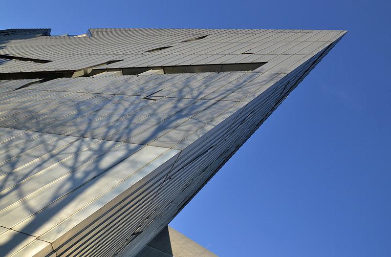 Jüdisches Museum Berlin, Daniel Libeskind, Außenansicht