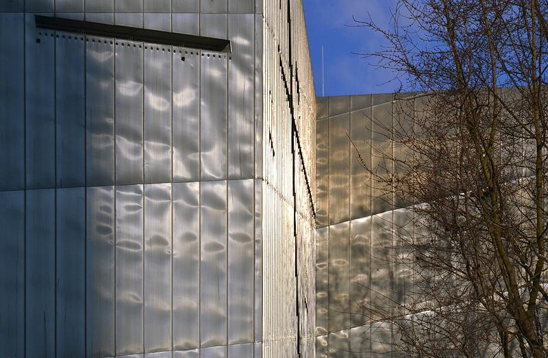Jüdisches Museum Berlin, Daniel Libeskind, Außenansicht der Fassade