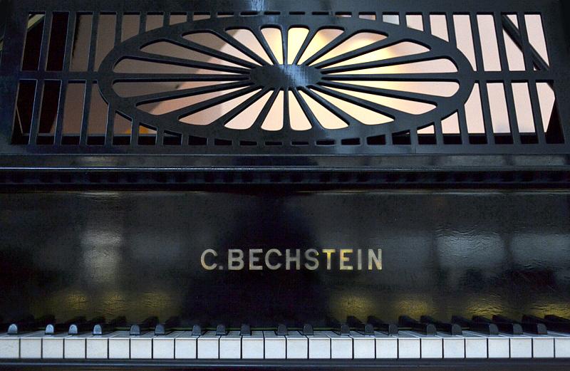 Musikinstrumenten-Museum, Berlin, C. Bechstein Konzertflügel