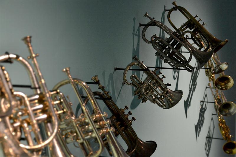 Ausstellung Valve Brass Music, 200 Jahre Ventilblasinstrumente, Valve.Brass.Music. 200 Jahre Ventilblasinstrumente, Taschenkornette