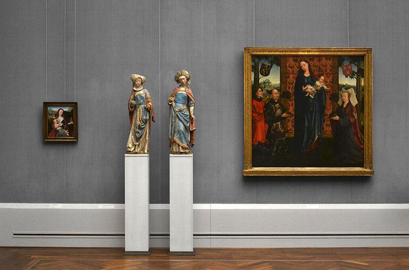 Gemäldegalerie, Bode-Museum, Skulpturen; Gerard David, Goswijn van der Weyden