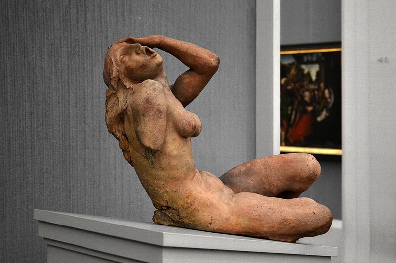 Gemäldegalerie, Bode-Museum, Skulptur; Schreiende Frau