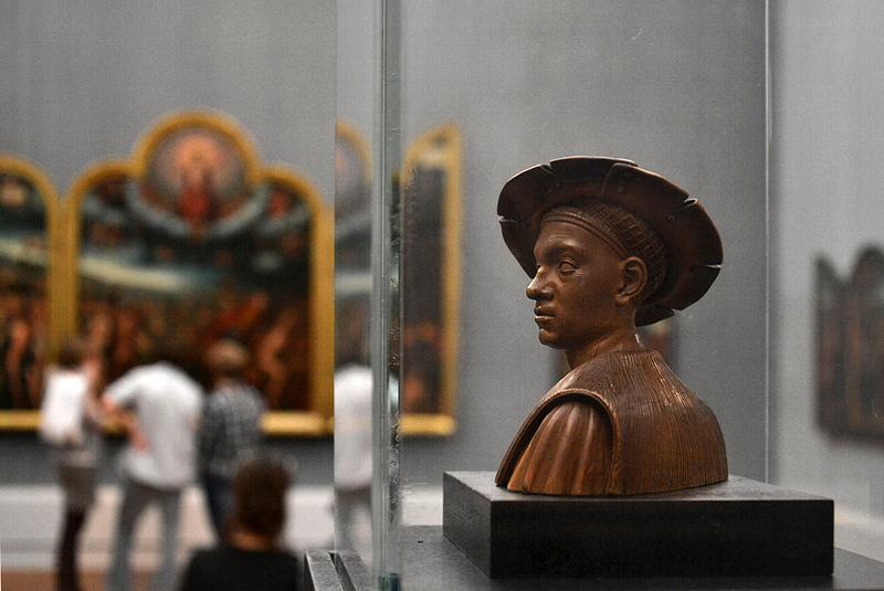 Gemäldegalerie, Bode-Museum, Skulpturen; Conrad Meit, Büste des Philibert le Beau, Herzog von Sovoyen
