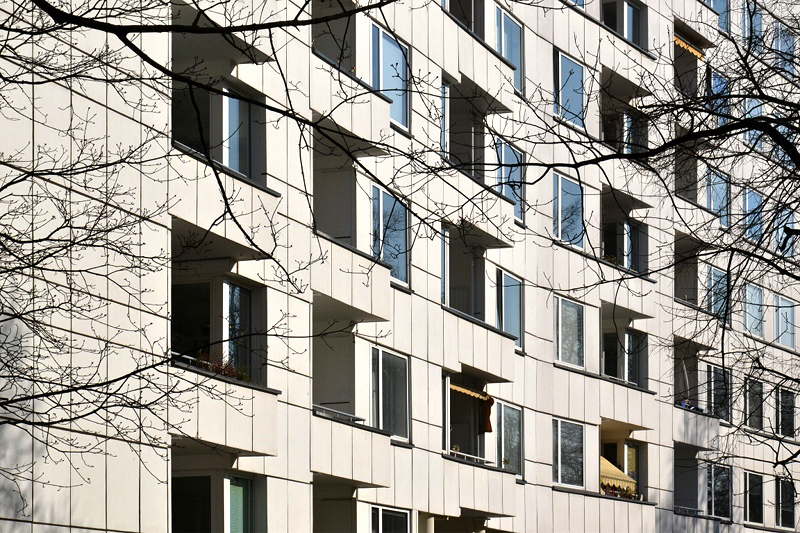 Hansaviertel Berlin, Interbau 1957,