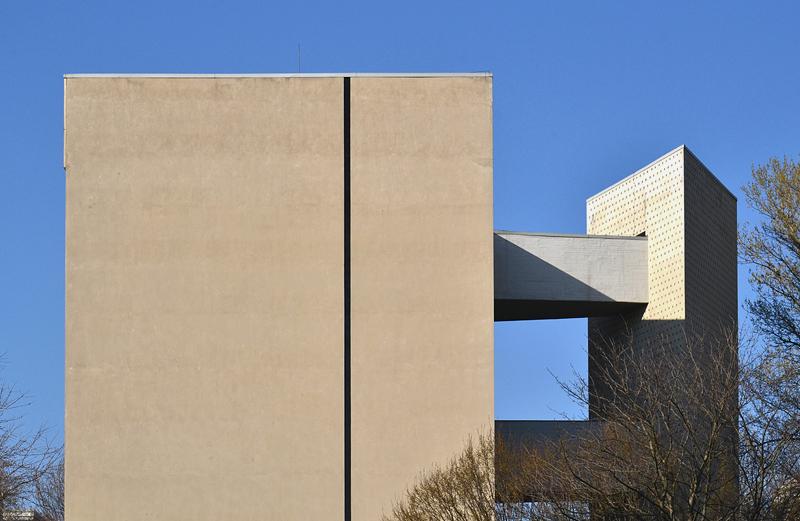 Hansaviertel berlin, Interbau 1957, Zeilenbau von Oscar Niemeyer