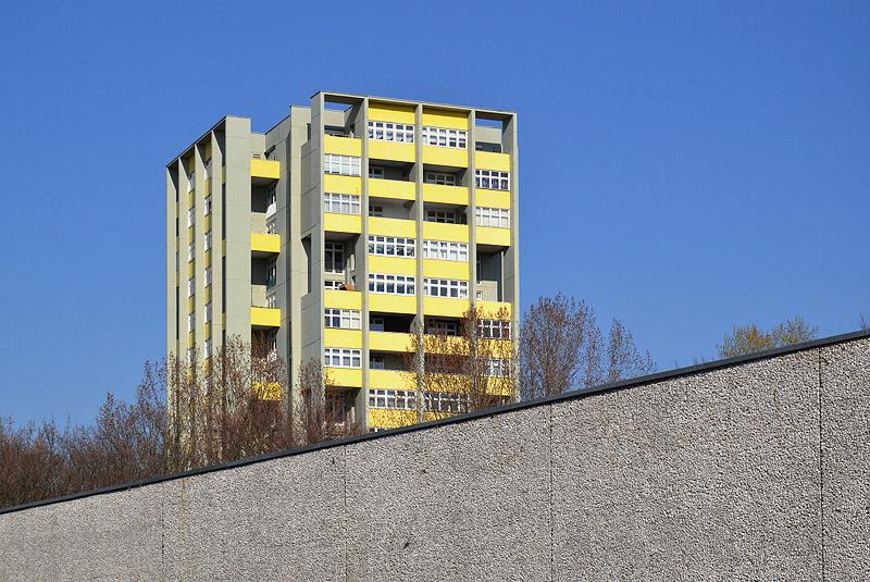 Hansaviertel berlin, Interbau 1957, Hochhaus von Hans Schwippert