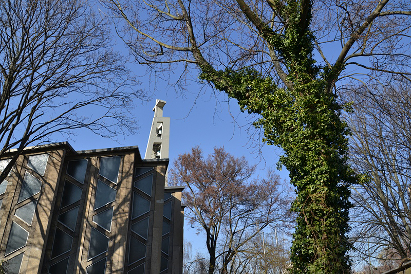 Hansaviertel berlin, Interbau 1957, Willy Kreuer, St. Ansgar Kirche
