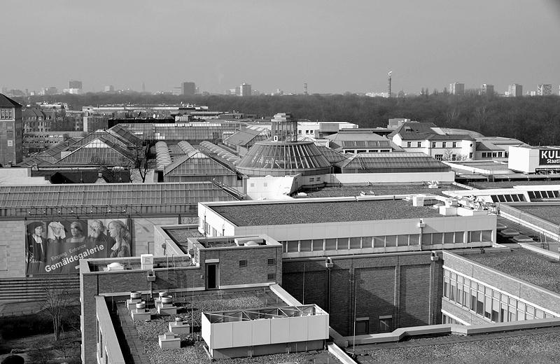 Dach und Laterne der Gemäldegalerie Berlin, Hilmar und Sattler, Fabian Fröhlich