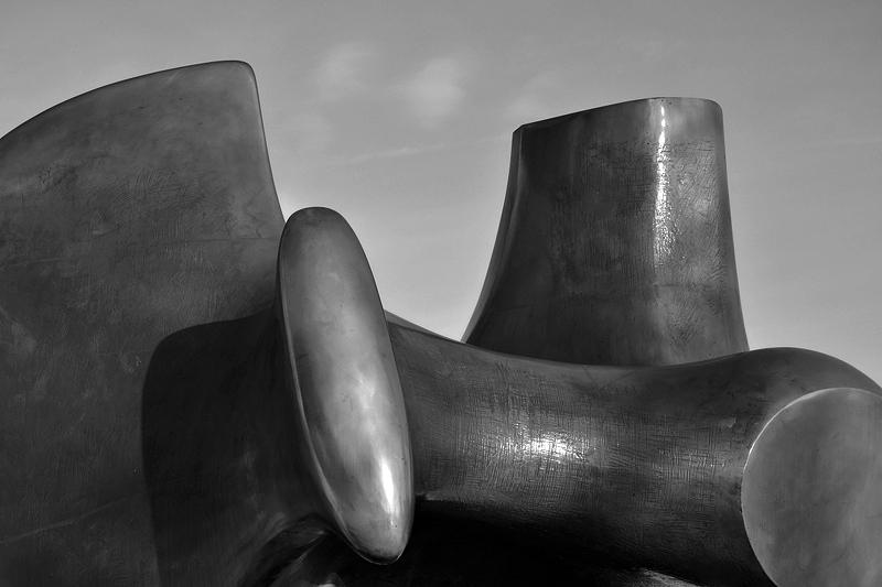 Henry Moore, Bogenschütze, The Archer, Neue Nationalgalerie