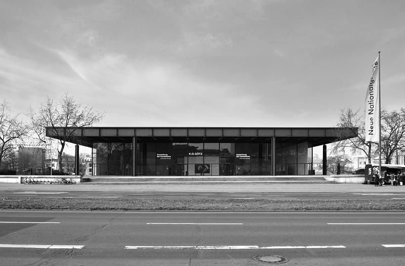 Fabian Fröhlich, Neue Nationalgalerie, Mies van der Rohe, Potsdamer Straße
