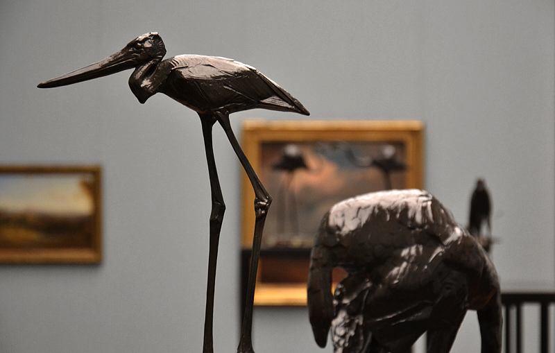 Rembrandt Bugatti, Alte Nationalgalerie, jaribu femelle