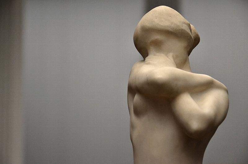Rembrandt Bugatti, Alte Nationalgalerie, Akt, Jeune fille nue aux bras croises