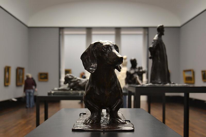 Rembrandt Bugatti, Alte Nationalgalerie, Dackel, mon chien wurst