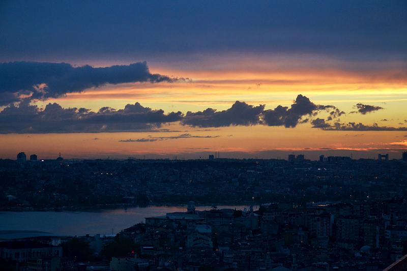Istanbul, Büyük Londra Hoteli, Dachterrasse