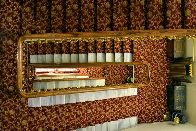 Istanbul, Büyük Londra Hoteli,Treppenhaus