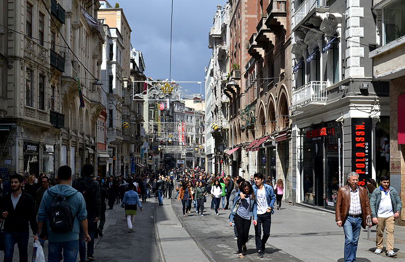 Istanbul, İstiklal Caddesi
