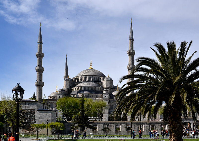 Istanbul, Blaue Moschee, Sultanahmet Camii