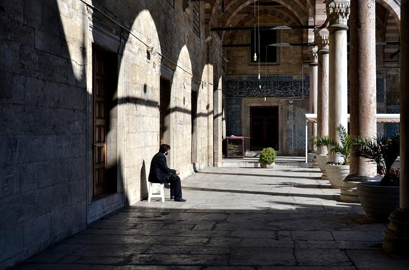 Istanbul, Neue Moschee, Arkaden