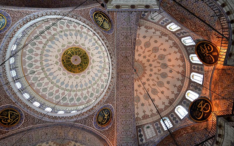 Istanbul, Neue Moschee, Kuppel