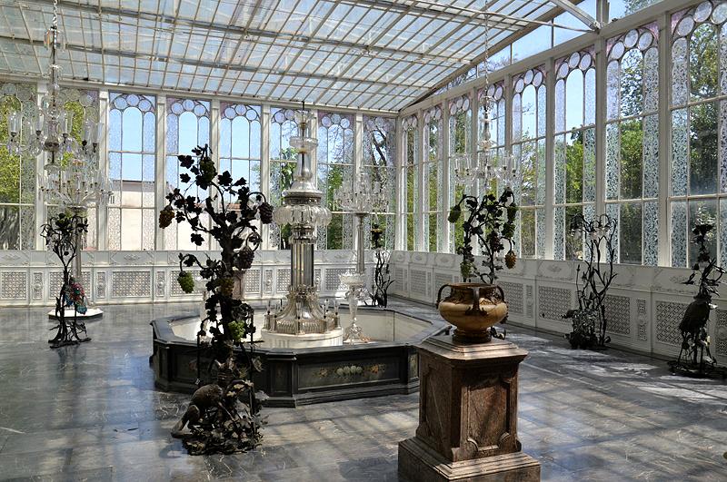 Istanbul, Beşiktaş, Dolmabahçe-Palast, Kristall-Pavillon