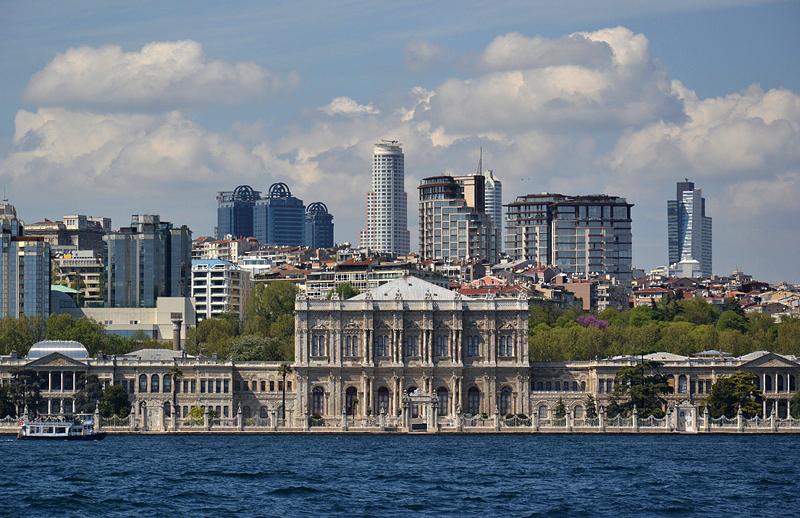 Istanbul, Dolmabahçe-Palast, Kuppel der zentralen Halle