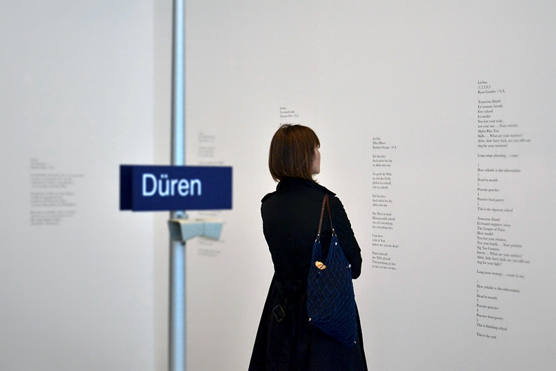 8. Berlin Biennale, Museen Dahlem, Saâdane Afif, Là-bas