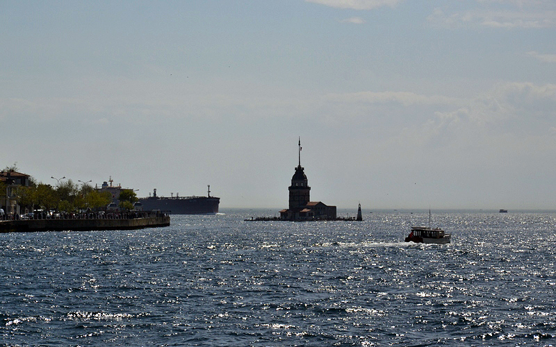 Istanbul, Leanderturm, Kız kulesi, Mädchenturm