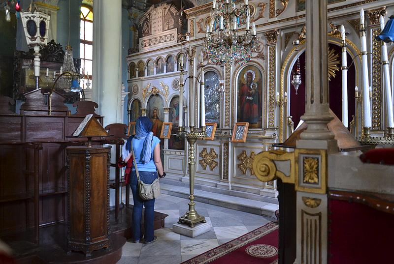 Büyükada, Ikonen im Aya Yorgi Kloster