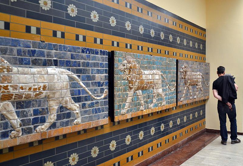 İstanbul Arkeoloji Müzesi, Istanbul Museum of the Ancient Orient, Lions of the Ishtar Gate