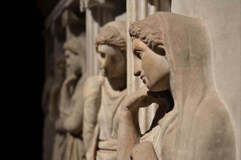 İstanbul Arkeoloji Müzesi, Istanbul Archaelogical Museum, Sarkophagus of the mourning women
