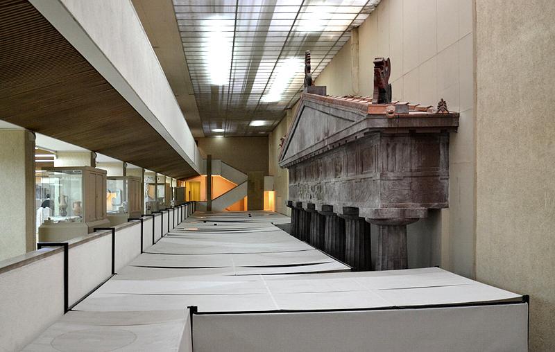 İstanbul Arkeoloji Müzesi, Istanbul Archaelogical Museum, New building under construction