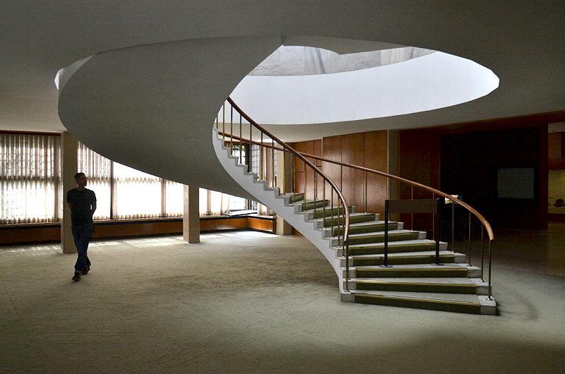 İstanbul Arkeoloji Müzesi, Istanbul Archaelogical Museum, Staircase in the New building