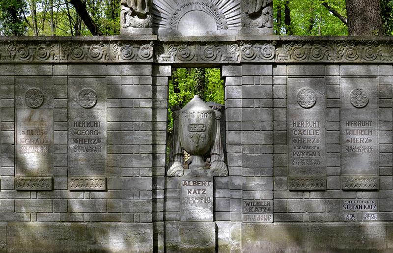 Jüdischer Friedhof Schönhauser Allee, Prenzlauer Berg, Berlin, Grabmal Herz