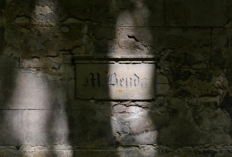 Jüdischer Friedhof Schönhauser Allee, Prenzlauer Berg, Berlin, Wandgrab