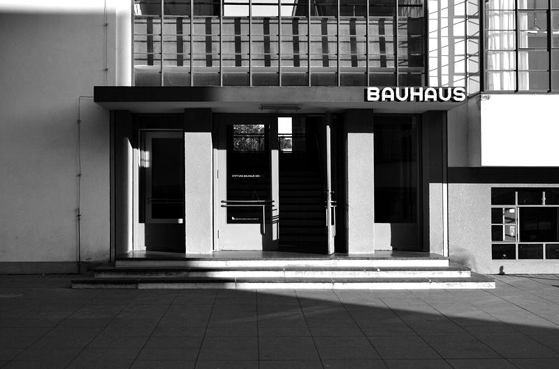 Baushaus Dessau, Eingang