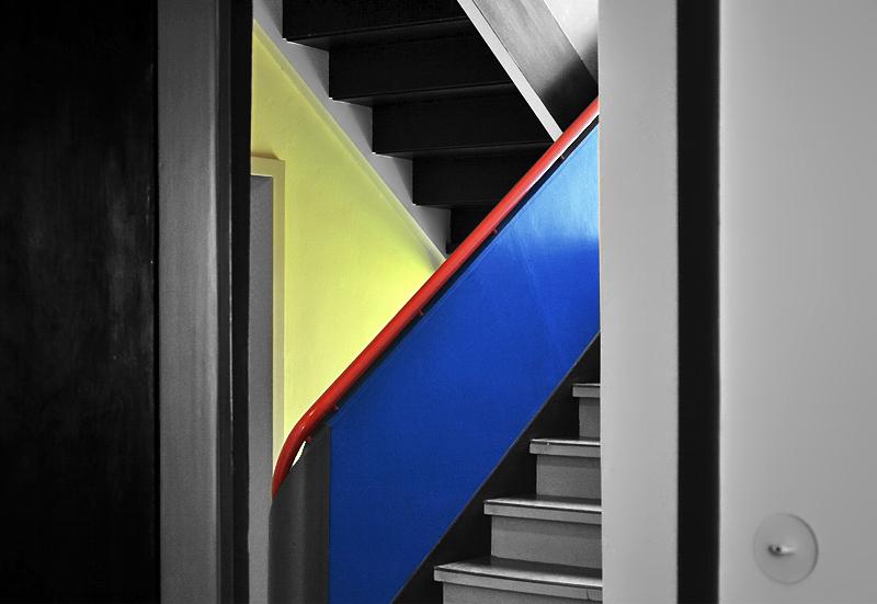 Haus feininger treppenhaus - Bauhaus architektur hauser ...