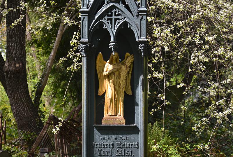 Georgenfriedhof, Berlin Greifswalder Straße, Alst