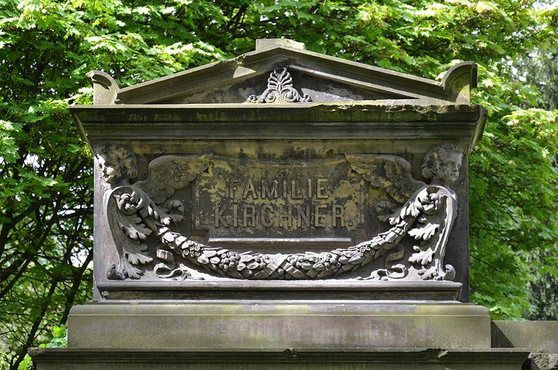 Friedhof I der Georgen-Parochialgemeinde, Berlin Greifswalder Straße, Grabmal Kirchnerner